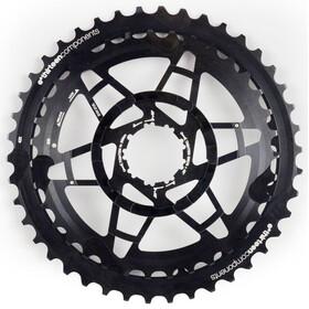 e*thirteen Ersättningsdrev i Aluminium Kassett 36-42 för TRS+ Kassett 10-delad svart